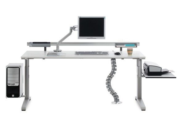 Puesto de trabajo medidas para el uso correcto de los ordenadores entorno saludable - Medidas mesa oficina ...