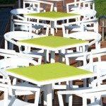 Cómo elegir muebles de exterior para centros deportivos