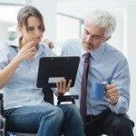Nuevas tecnologías para la integración sociolaboral  de las personas con discapacidad