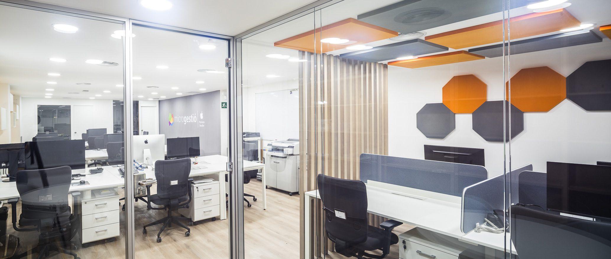 Espacios abiertos y confort ac stico c mo reducir el for Ruido oficina