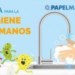 Infografía sobre la higiene de manos
